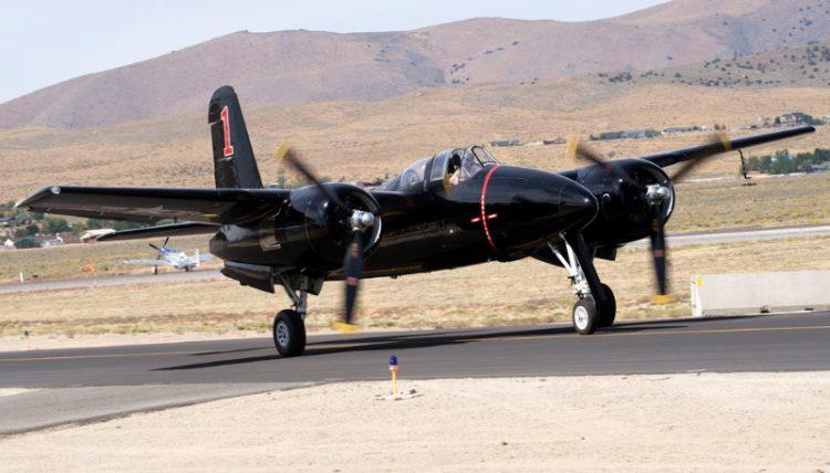 Unlimited. F7F-3 Tigercat, 'Big Bossman'. Rod Lewis.