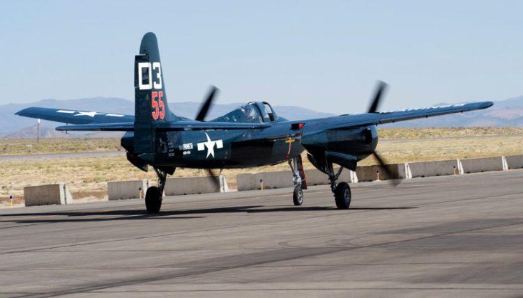 Unlimited. F7F-3 Tigercat, 'Here Kitty Kitty'. Stewart Dawson.