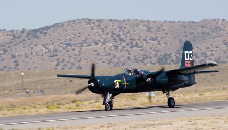 Unlimited. F7F-3 Tigrecat, 'Here Kitty Kitty'. Stewart Dawson.