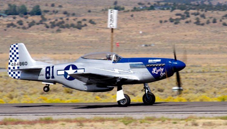 Unlimited.  P-51 Mustang, 'Lady Jo'. Robert Patterson.