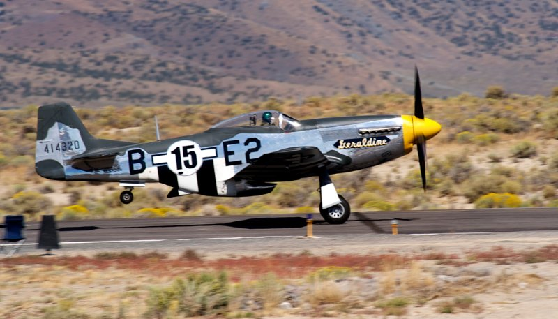 Unlimited. P-51 Mustang, 'Geraldine'. Mark Watt.