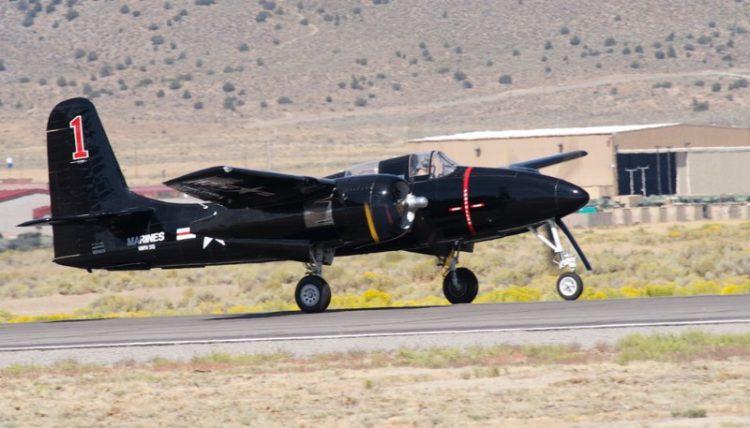 Unlimited. F7F-3 Tigrecat, 'Big Bossman'. Rod Lewis.