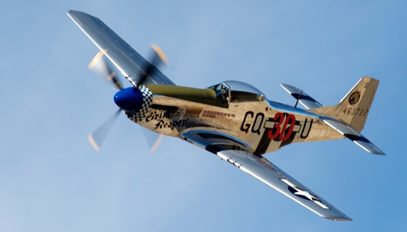 Unlimited. P-51 Mustang,