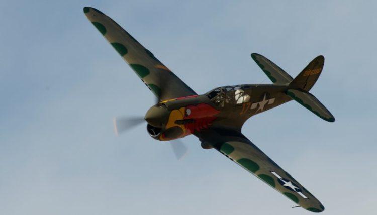 Unlimited. P-40N Parrothead. John Curtiss Paul.