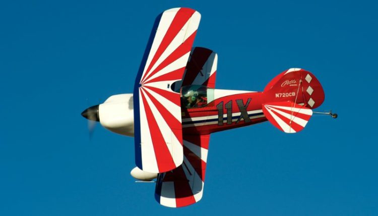 Biplane. Pitts S-1S 'Purse Snatcher'. David Roelofs.