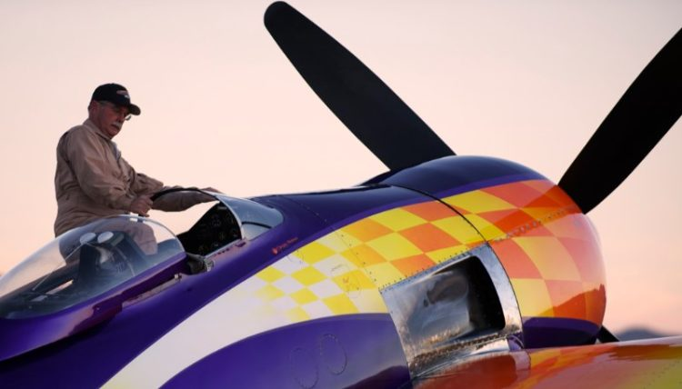 John Penny, Rare Bear and a dawn test flight.