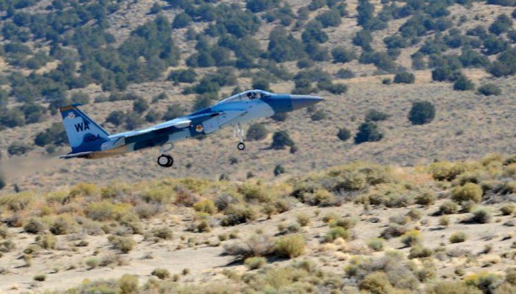 USAF F-15.
