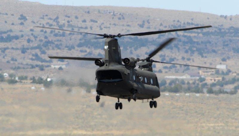 ANG Chopper lifts off.
