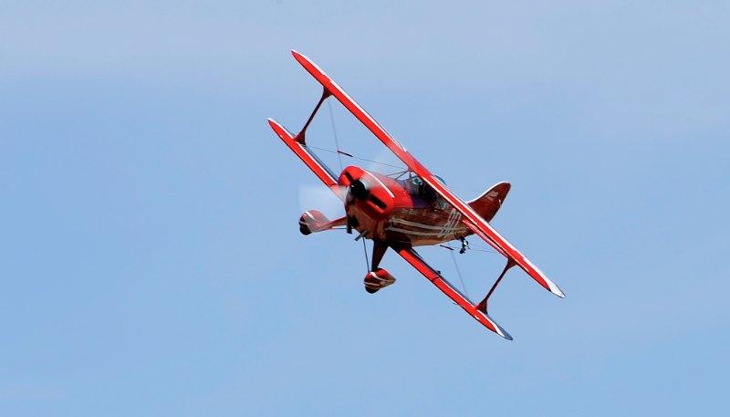 Biplane. Pitts S-1. Michael Stewart.
