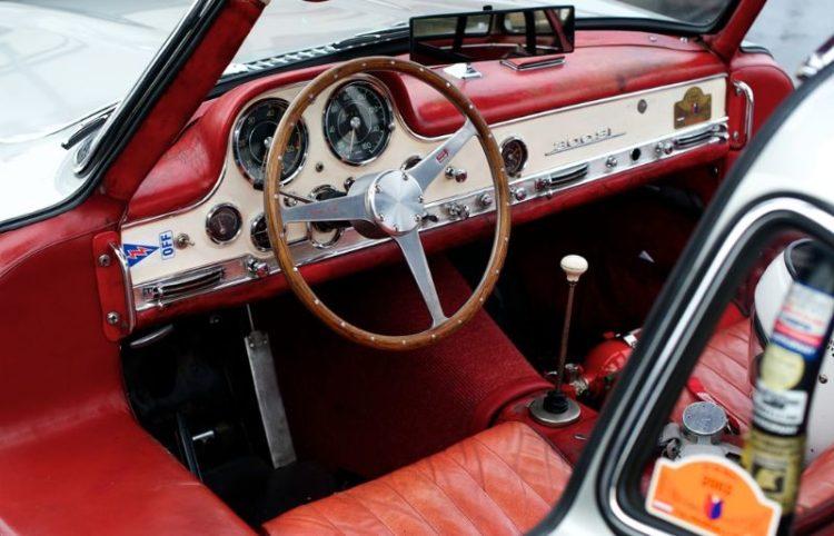 300 SL, Mercedes, Curtis