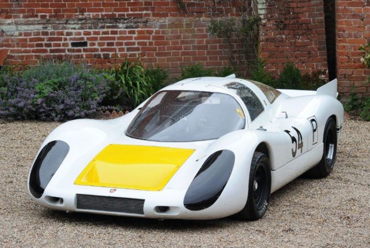 Porsche 907 Longtail that Vic Elford and Jochen Neerpasch drove to victory at the 1968 24 Hours of Daytona