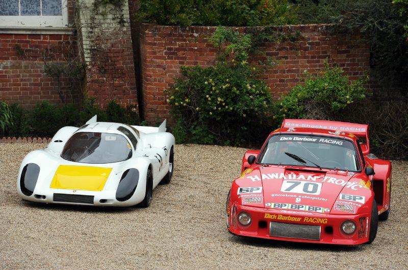Porsche 907 Longtail and Porsche 935