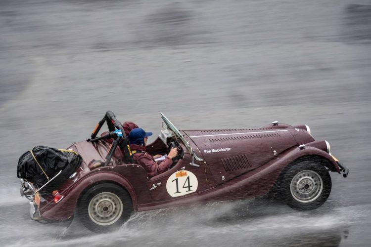 Car 14 Philip Macwhirter(AUS) / Laurette Macwhirter(AUS)1969 - Morgan plus 8, Rally of the Incas 2016, Rally of the Incas 2016. Day 01 Buenos Aires - Mar del Plata