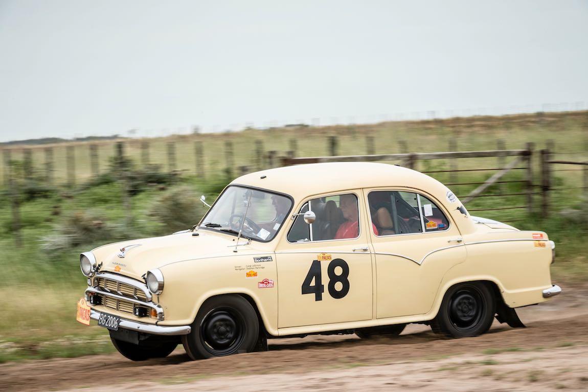 Car 48 Stephen Partridge(NZ) / Corgi La Grouw(NZ)1958 - Morris Oxford, Rally of the Incas 2016