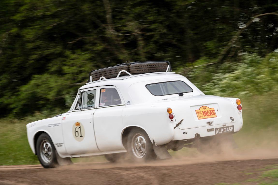 Car 61 Barry Nash(GB) / Malcolm Lister(GB)1969 - Rover P5B, Rally of the Incas 2016