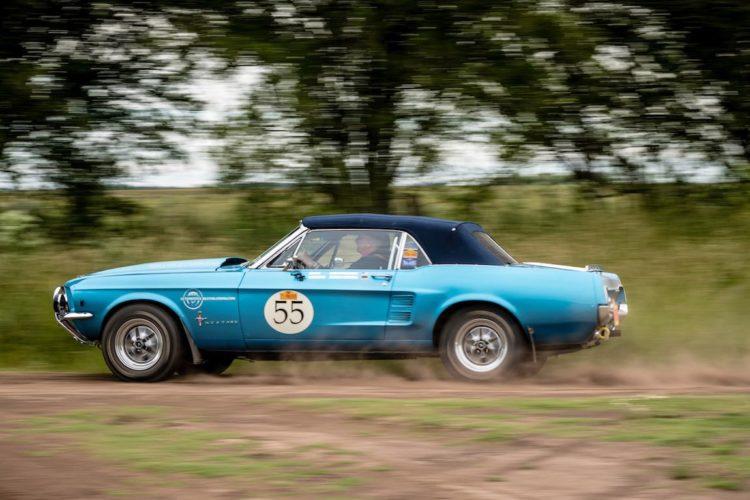 Car 55 Hans Middelberg(USA) / Jurgen Grolman(D)1967 - Ford Mustang Convertible, Rally of the Incas 2016