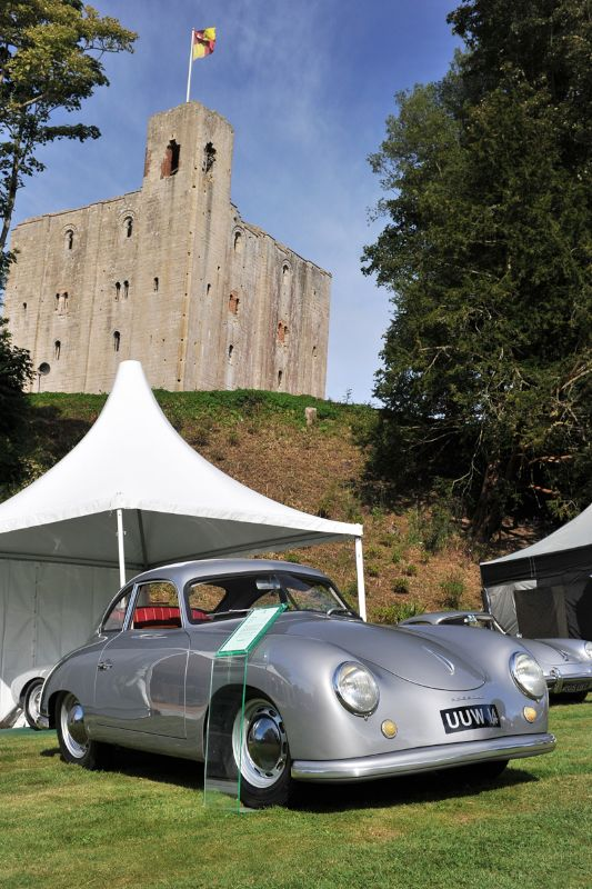 Porsche 356 at Classics at the Castle 2012