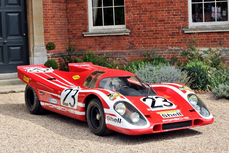 Porsche 917K won the 1970 24 Hours of Le Mans