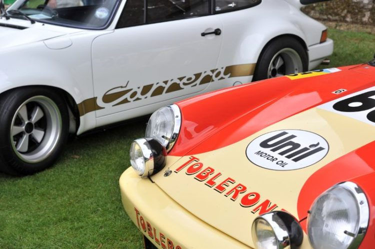 Porsche Classics at the Castle 2012