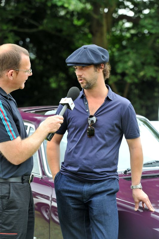 Jay Kay at Porsche Classics at the Castle 2012