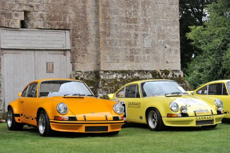 Porsche 911 RS at Classics at the Castle 2012