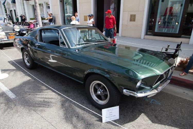 1968 Ford Mustang GT Bullitt.