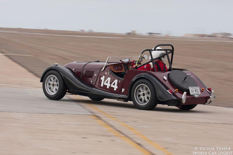 The 1964 Morgan 4/4 of Mark Pladson. © 2014 Victor Varela