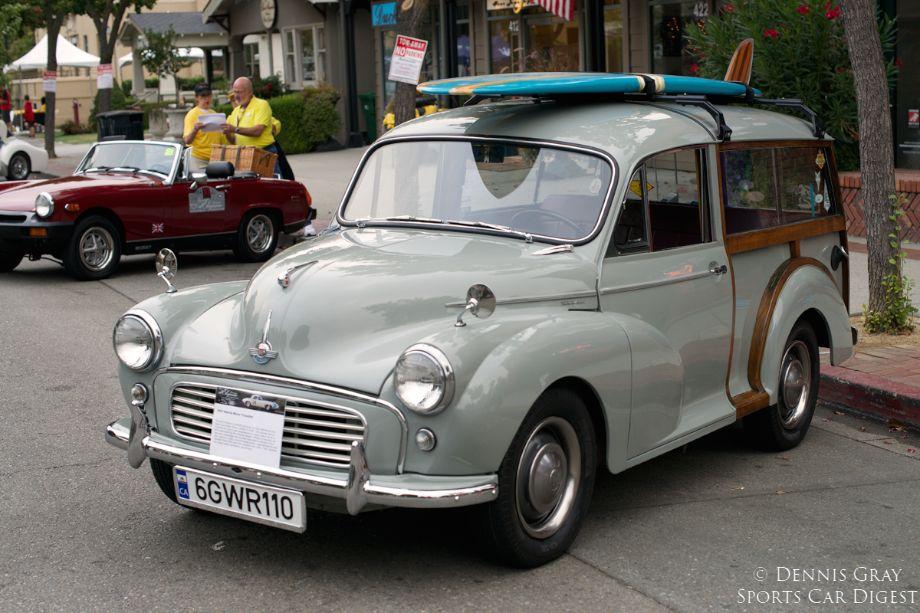 2014 Danville Concours. 1957 Morris Minor Traveller.