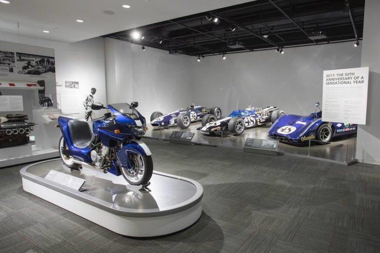 Dan Gurney Petersen Museum Exhibit
