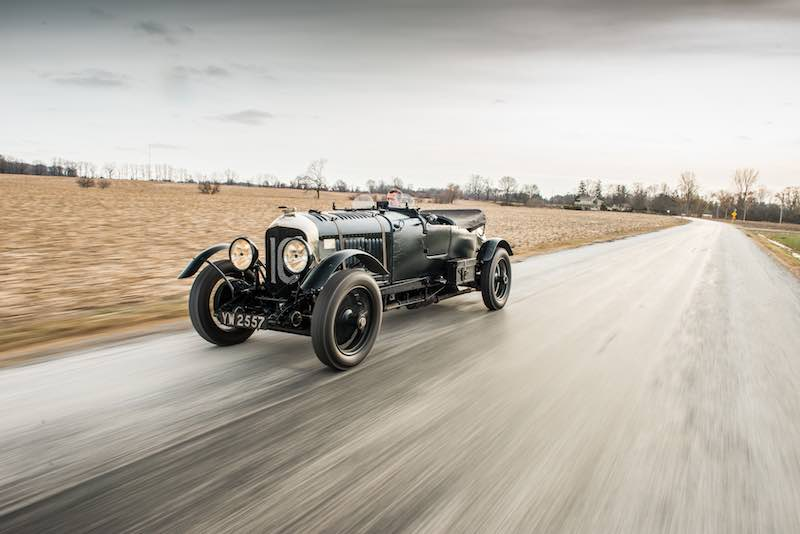 Factory Bentley Le Mans Team Car Offered In Amelia Island Auction