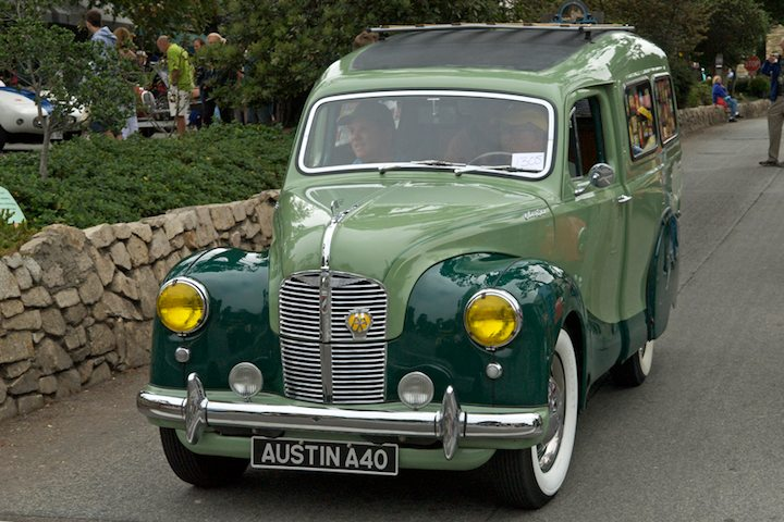 1950 Austin A40 Countryman left hand drive