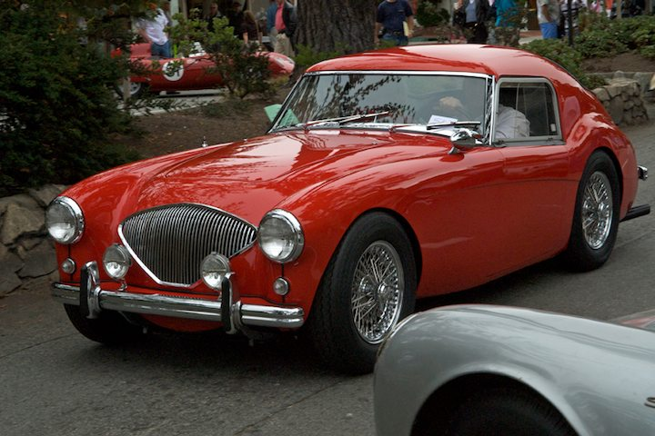 1956 Austin Healey 100/4 Coupe. Customized by California Metel Shapers in the mid 60s.