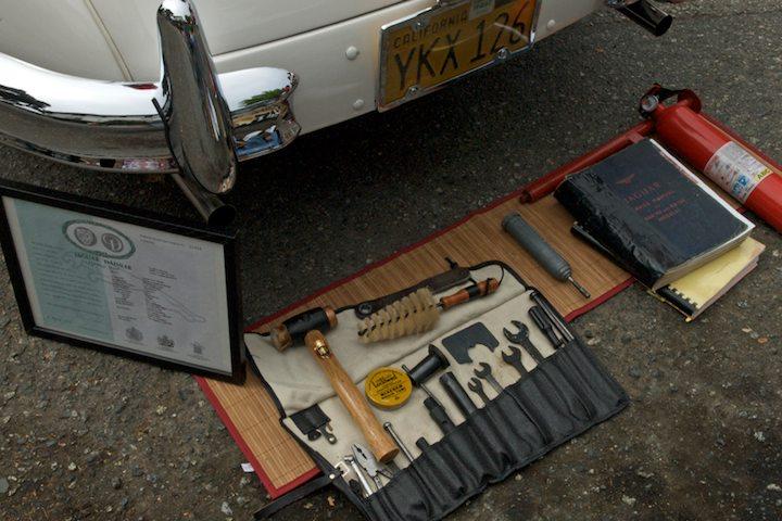 1960 Jaguar XK 150 FHC tool kit