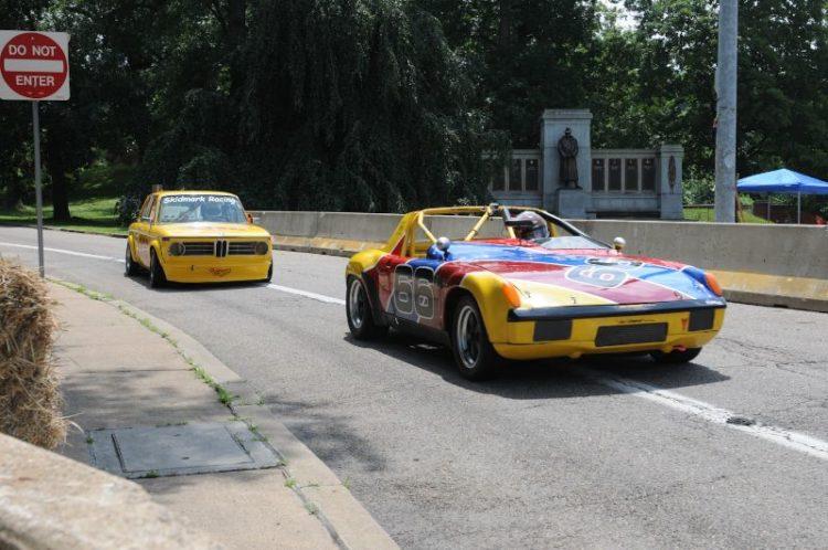 #66- Dotti Bechtol- '72 Porsche 914/6. #202-1970 BMW 2002- Perry Genova.