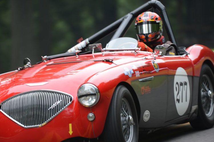 Michael Bartell- 1956 Austin Healey 100M.