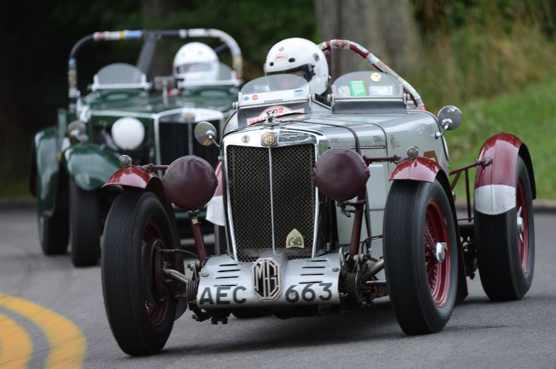 Frank Mount- 1939 MG-TB Special.