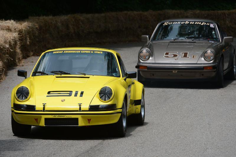 James Southwood- Porsche RS-Clone and Randy Evans 911sc.