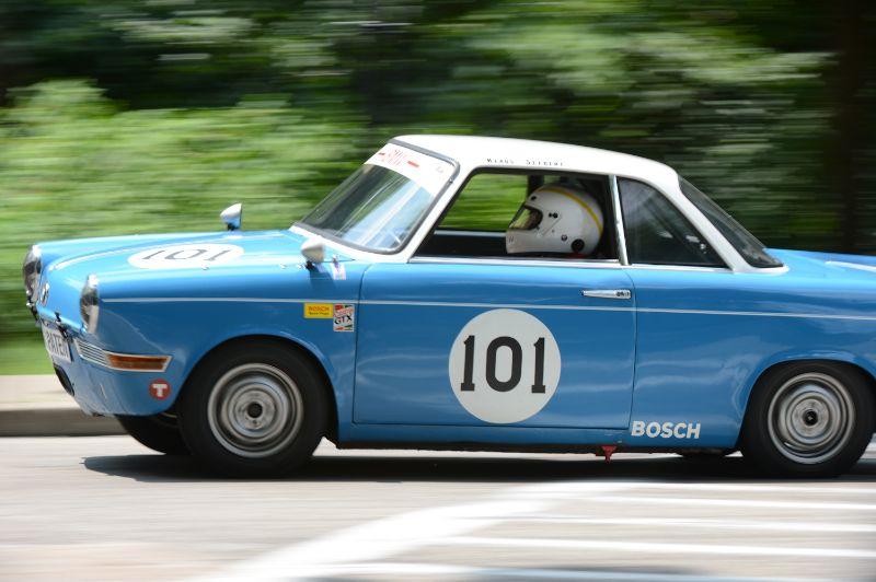 Klaus Selbert- 1960 BMW 700 Sport.