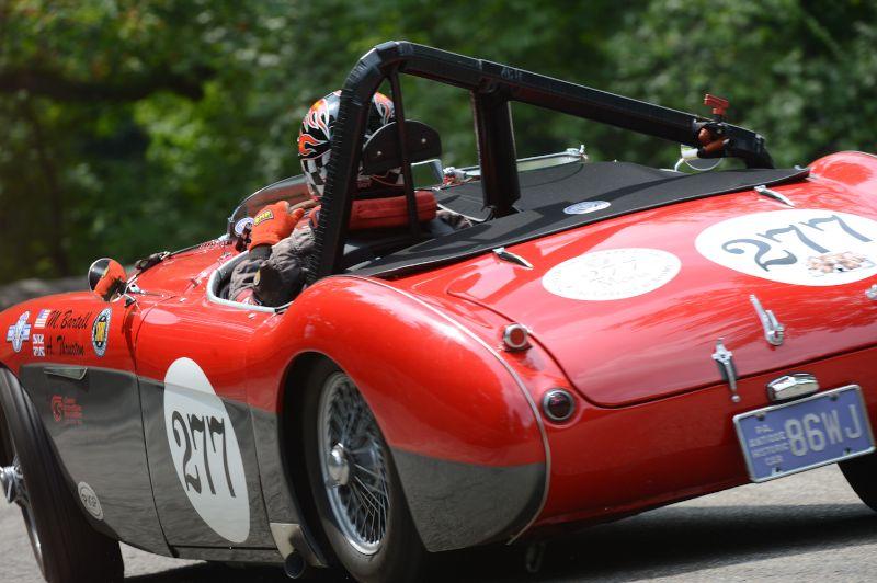 1956 Austin Healey 100M Michael Bartell.