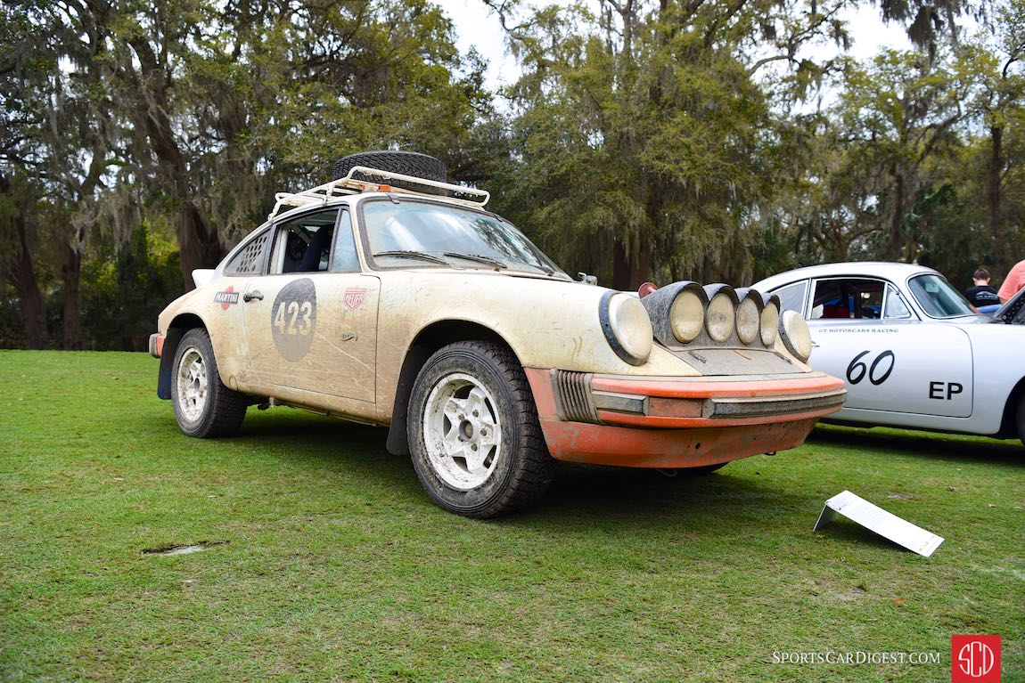 1978 Porsche 911 SC turned rally car of Jim Goodlett