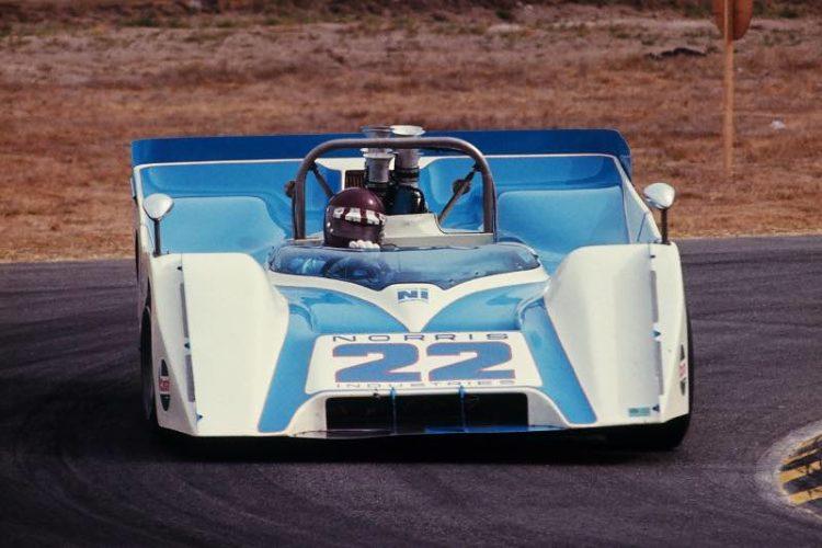 Jackie Oliver in the Ti 22 Mk II at the 1970 Laguna Seca Can-Am race (Photo: Pete Biro)