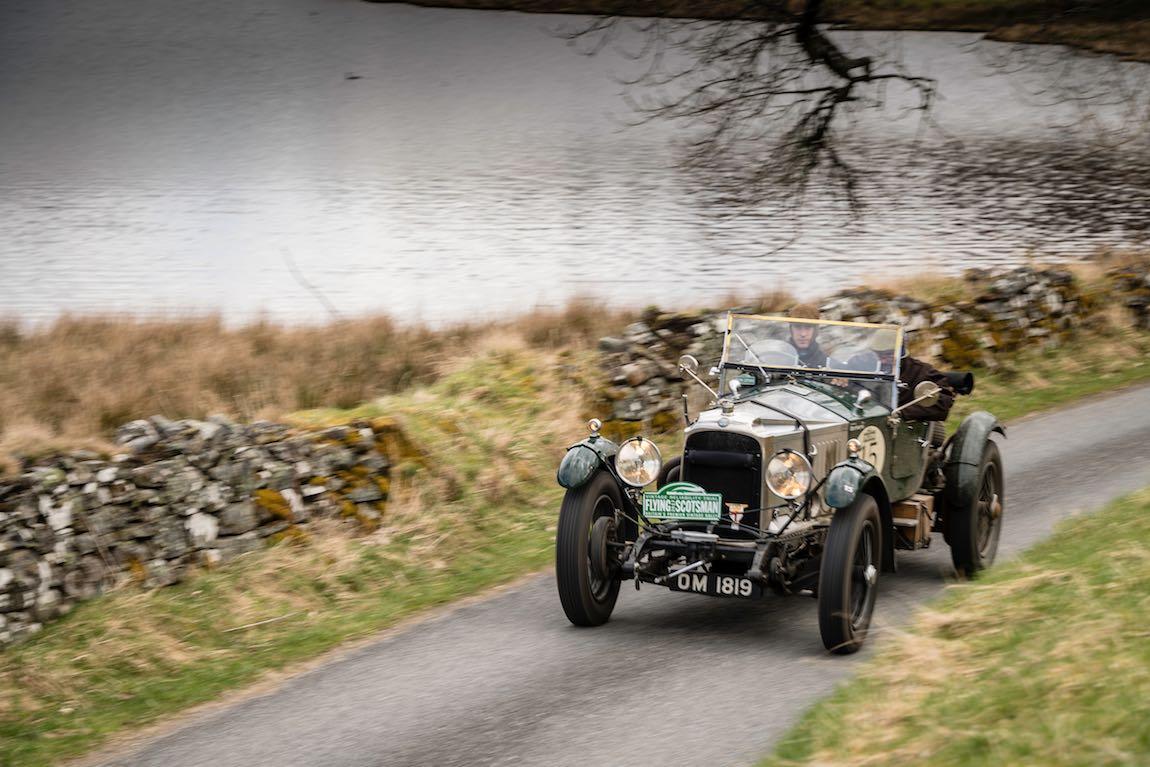 Car 15. Nicolas Leonard (B) / Marc Leonard (B) 1925 Vauxhall 30/98, Flying Scotsman 2017, Aviemore - Gleneagles