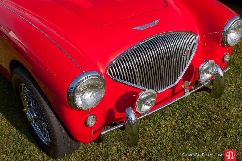 1954 Austin Healey 100/4, owned by Howard Macken