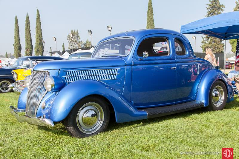 1936 Ford 5 Window Coupe, owned by Frank Klein