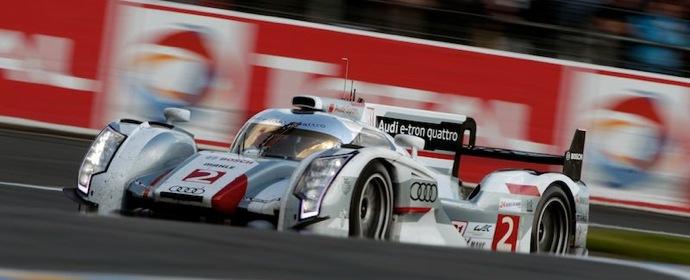 Audi e-tron Quattro at 24 Hour of Le Mans 2012