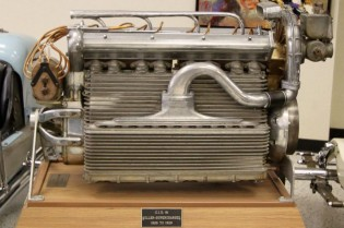 91 cu. in Miller Supercharged Engine at Indianapolis Motor Speedway Museum