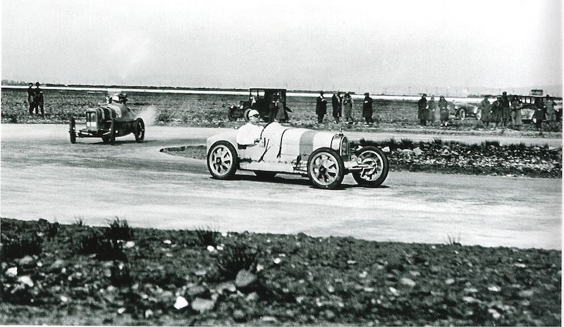 The Type 35 competing at the 1925 Grand Prix de Provence