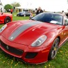 One of two Ferrari 599 GTOs that showed up at Hershey