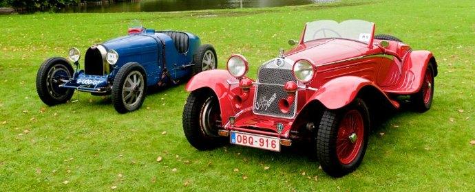 1932 Alfa Romeo 6C 1750 1926 Bugatti 35B