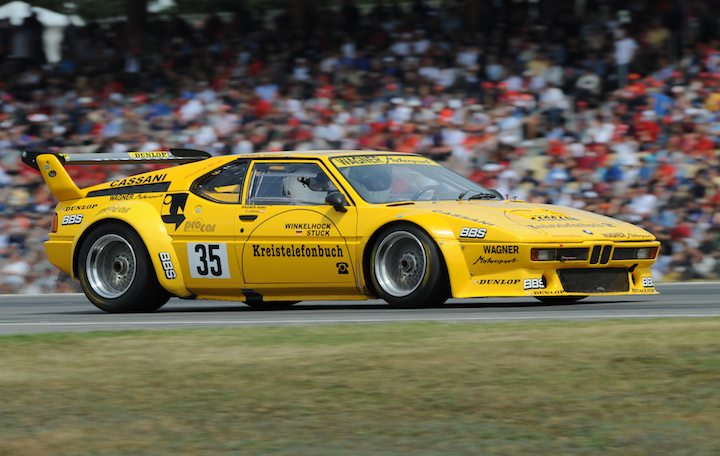 bmw m1 procar car profile and video. Black Bedroom Furniture Sets. Home Design Ideas